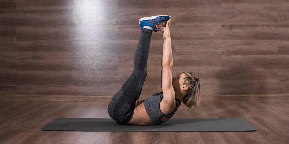 Складка упражнение на пресс - питание, красота и здоровье