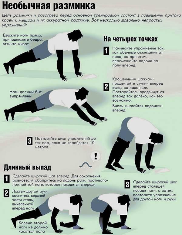 Заминка после тренировки: как завершить спортивное занятие