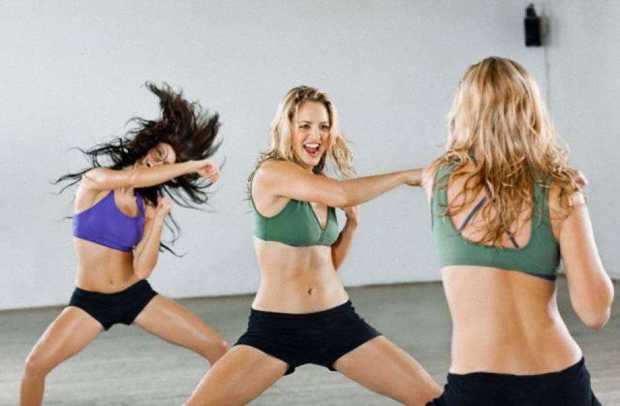 Занятия тайбо для похудения женщин