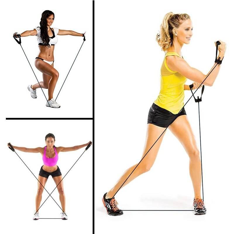 Тренировки с фитнес-резинкой