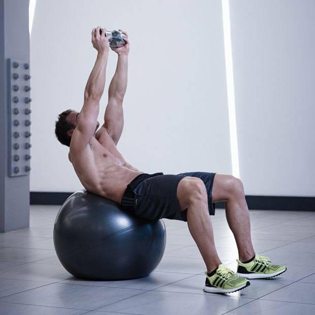 Фитбол упражнения - комплексы с гимнастическим мячом для похудения, спины, начинающих с видео