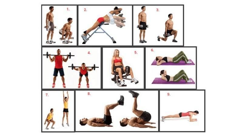 Жиросжигающие упражнения для похудения для мужчин