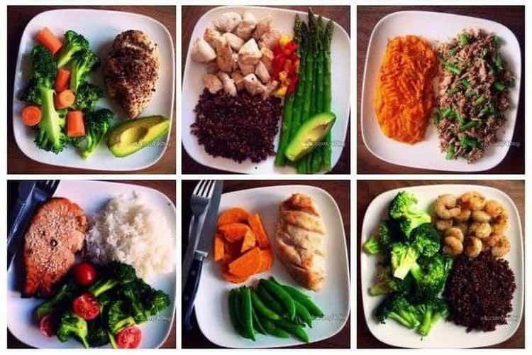 Дробное питание: варианты рационов для похудения и наращивания мышц, список продуктов