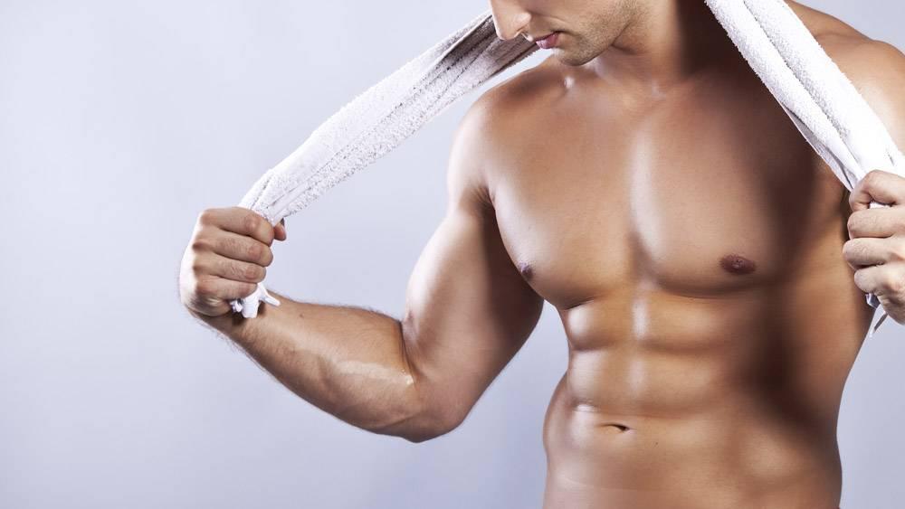 Как раз и навсегда убрать жир с грудных мышц мужчине?