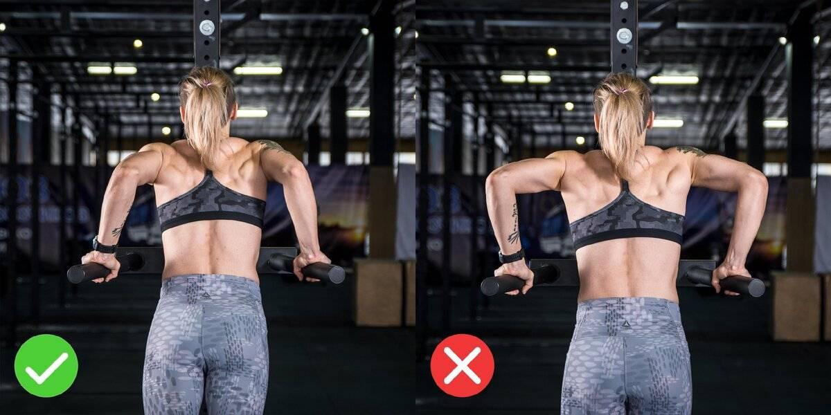 Отжимания на брусьях: какие мышцы работают, техника выполнения, виды на трицепс и грудные, схема тренировок