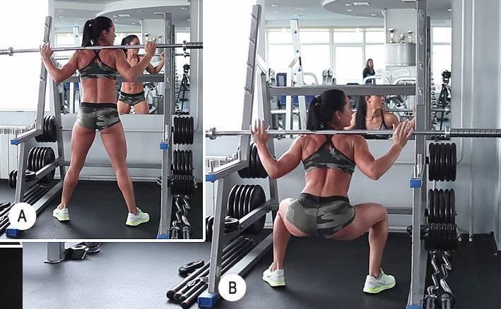 С каким весом начинать приседать девушке: правила подбора веса и техника выполнения упражнений