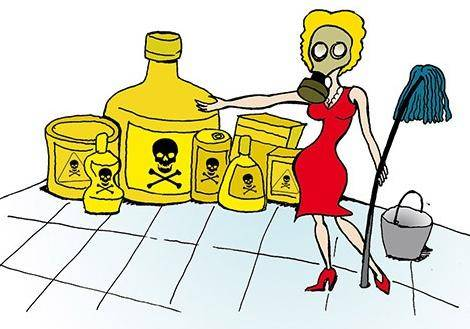Чистота – страшная сила, или чем грозит применение бытовой химии
