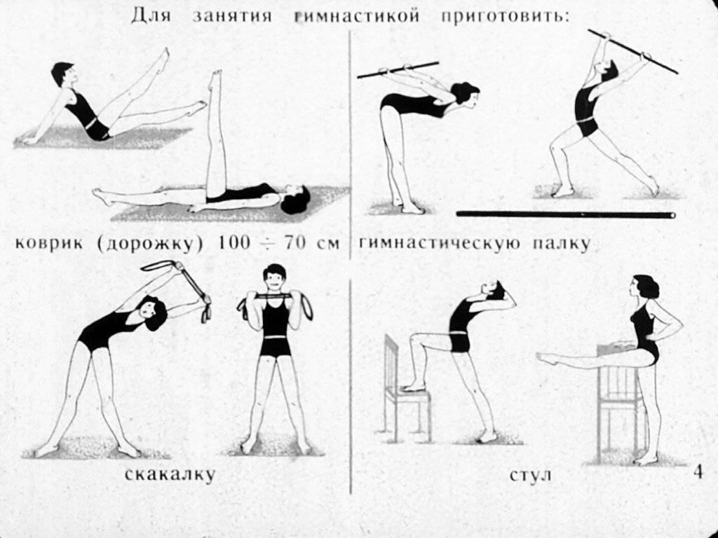 Утренняя зарядка: комплекс упражнений для бодрости на весь день