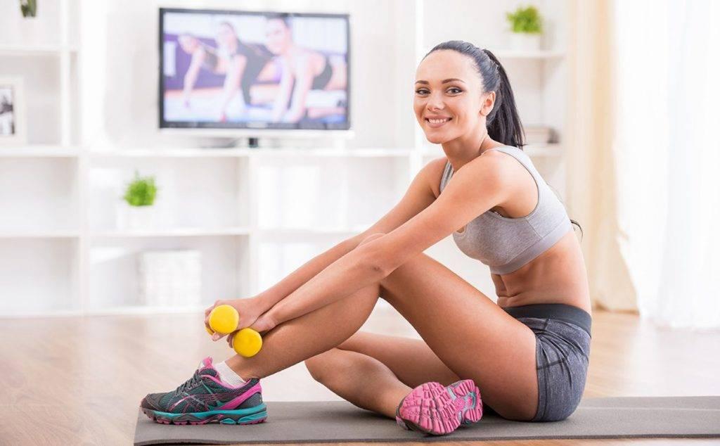 Фитнес в домашних условиях – лучшие упражнения | proka4aem.ru