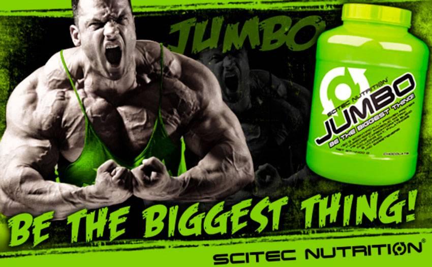 Jumbo от scitec nutrition: как принимать, состав и отзывы