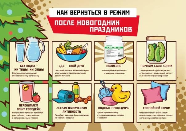 Как восстановиться после новогодних праздников и вернуться к работе / mama66.ru
