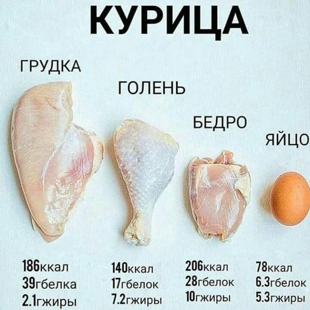 Калорийность куриных крылышек зависит от способа их приготовления