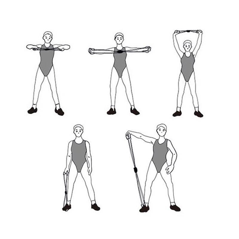 Трубчатый эспандер: выбор универсального тренажера и лучшие упражнения для проработки всего тела