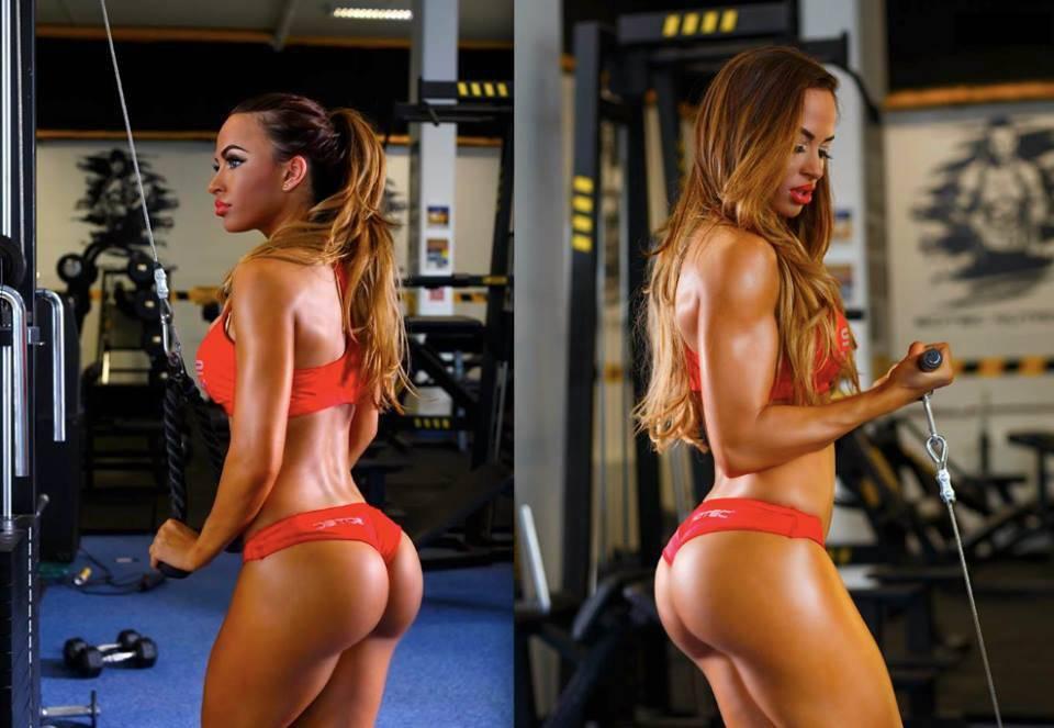 Супер фитнес модели