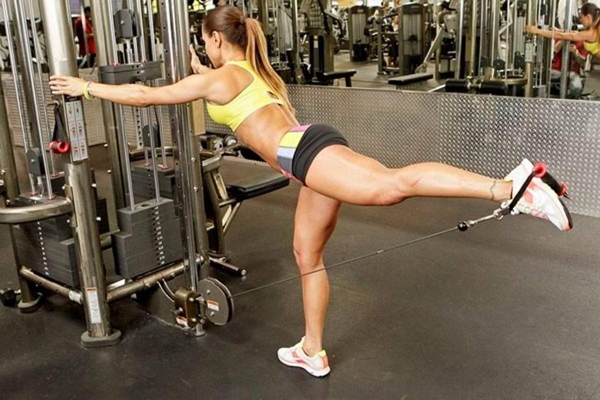 Как накачать попу, не накачивая ноги, и можно ли это сделать?