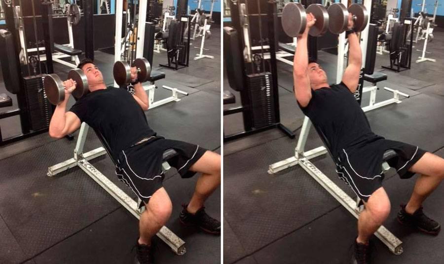 Жим в смите на наклонной скамье: техника выполнения, какие мышцы работают
