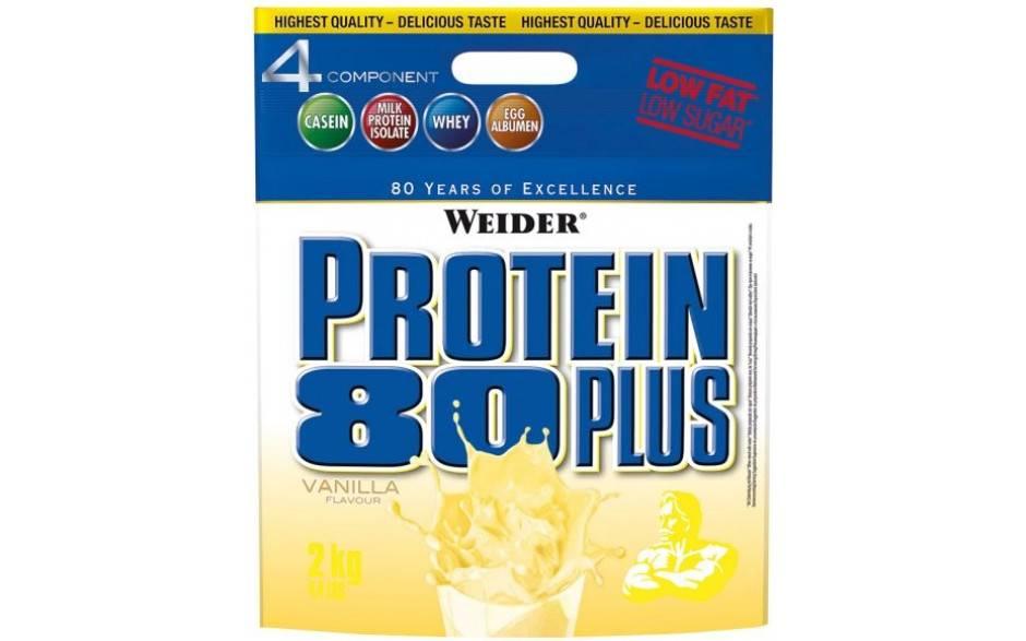 Weider protein 80 plus протеин: что это такое, состав, пищевая ценность, вкусы, где купить, отзывы