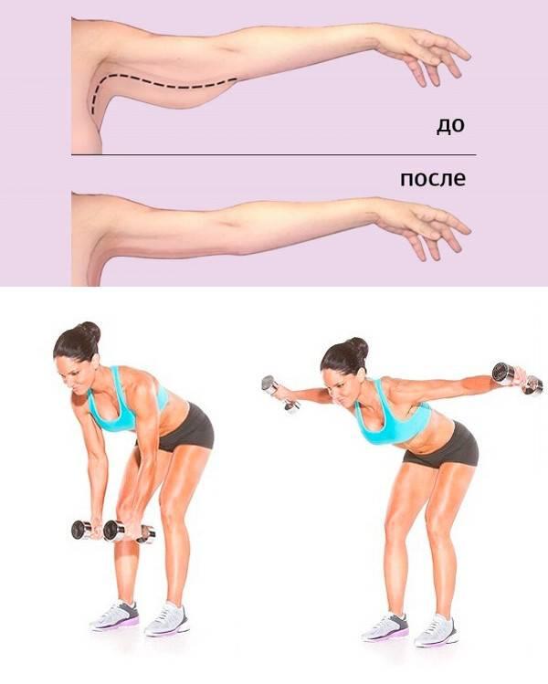 Как подтянуть обвисшую кожу на руках — 5 упражнений в домашних условиях для женщин, что делать чтобы убрать дряблость