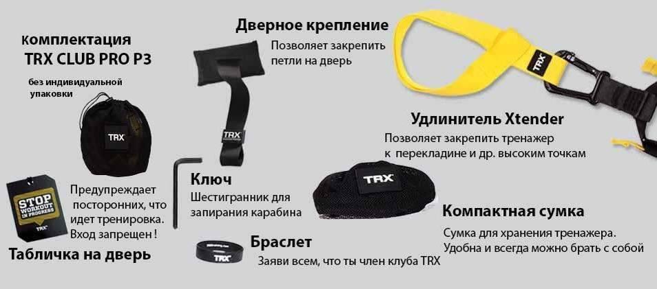 Занятия на trx петлях: силовой комплекс упражнений