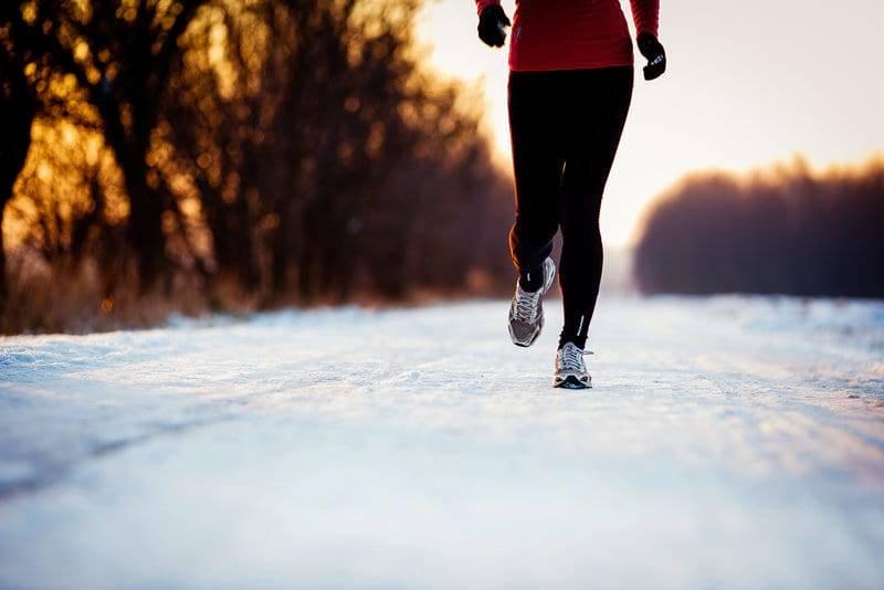 Зимний бег — как бегать в холодную погоду?
