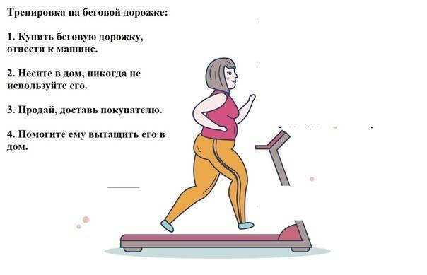 Как правильно бегать на беговой дорожке • эффективное похудение
