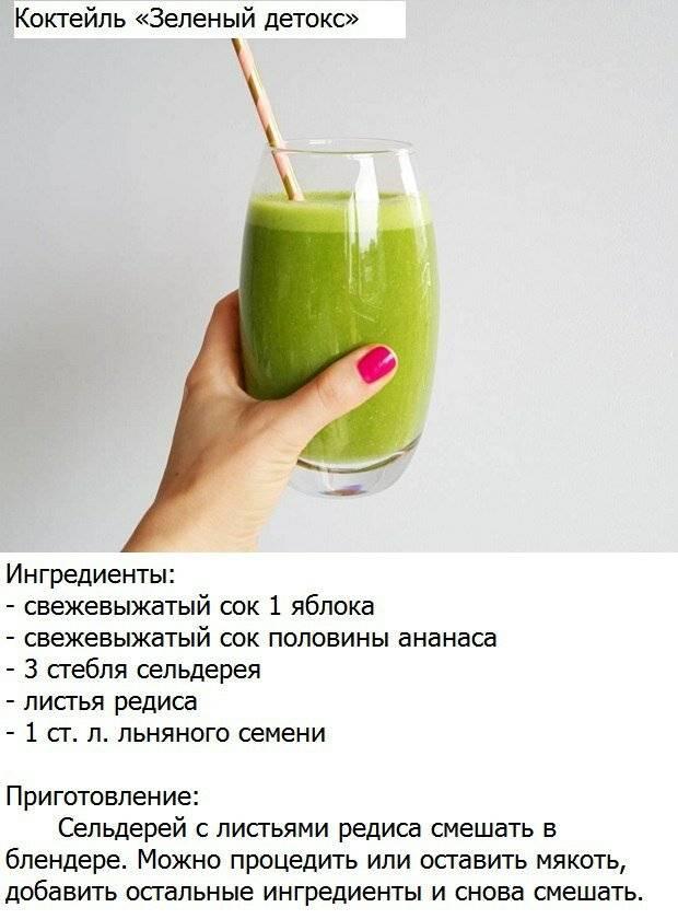 Напитки для похудения в домашних условиях — рецепты