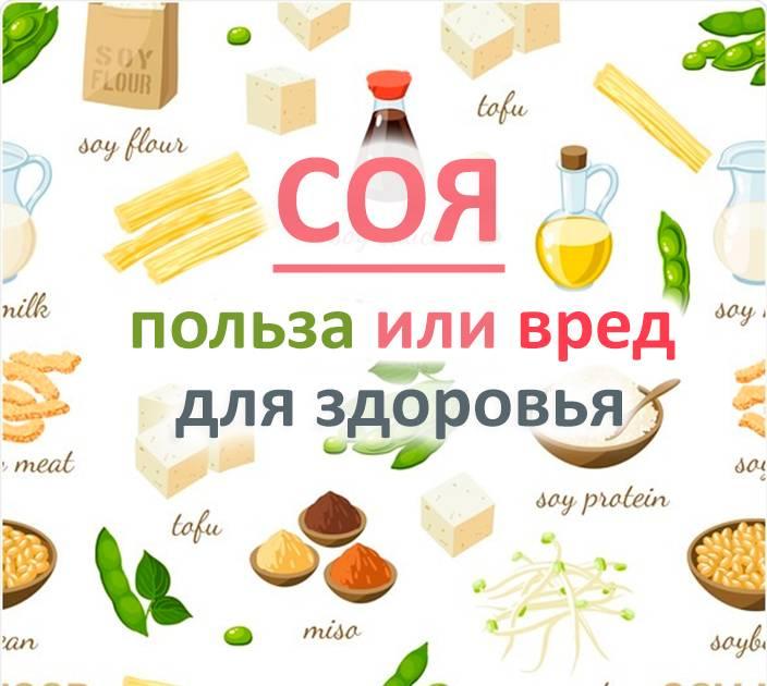 Соя: польза и вред, калорийность