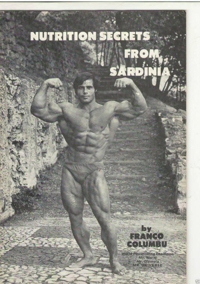 Программа тренировок франко коломбо, фото и его питание