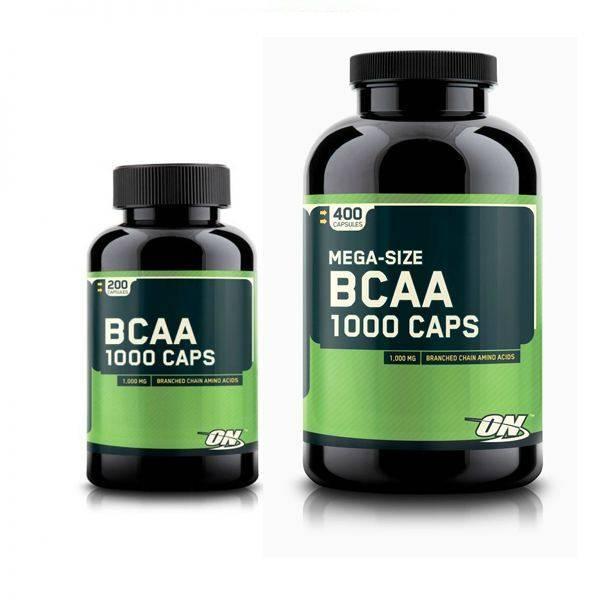 Bcaa 1000 caps от optimum nutrition
