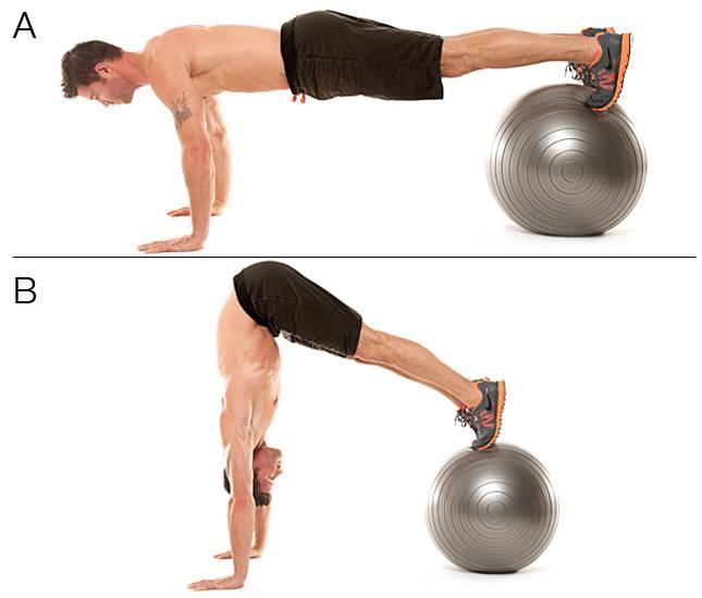 Зачем нужен фитбол - лучшие упражнения с гимнастическим мячом