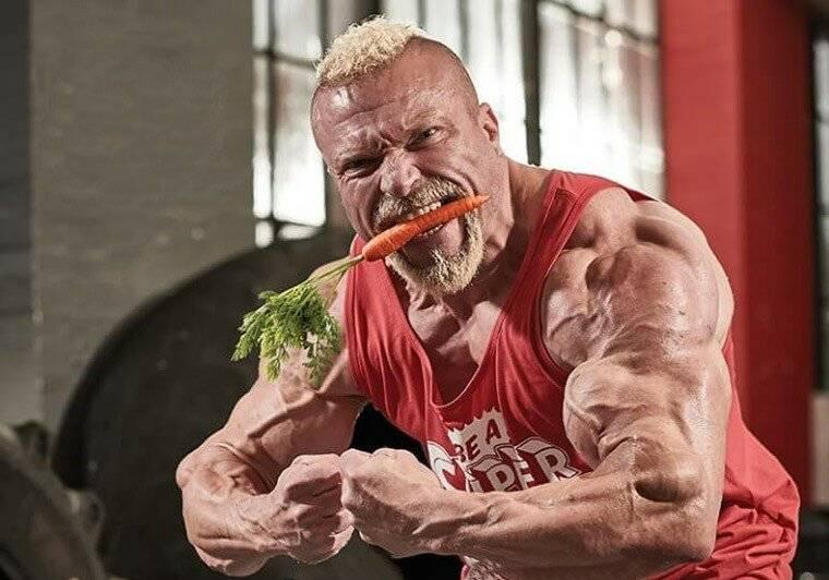 Вегетарианство в бодибилдинге