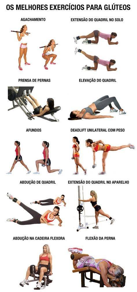 Упражнения, которые качают ягодицы, а не ноги