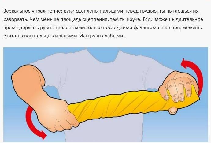 Чудовищная сила рук или как укрепить хват