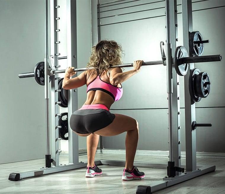40 видов приседаний: упражнения со свободным весом