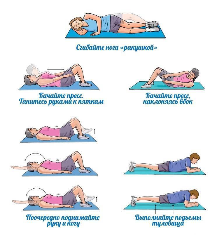 Как правильно качать пресс, чтобы убрать жир с живота: лучшие упражнения, правила выполнения