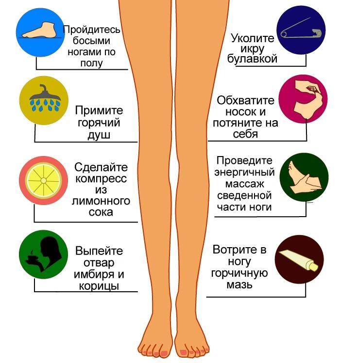 8 причин, почему возникают судороги в ногах
