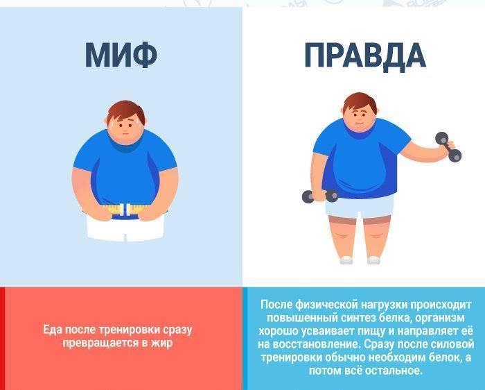 5 мифов о вредности спортивного питания