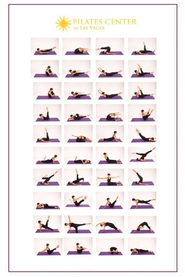 Пилатес для начинающих комплекс упражнений в домашних условиях