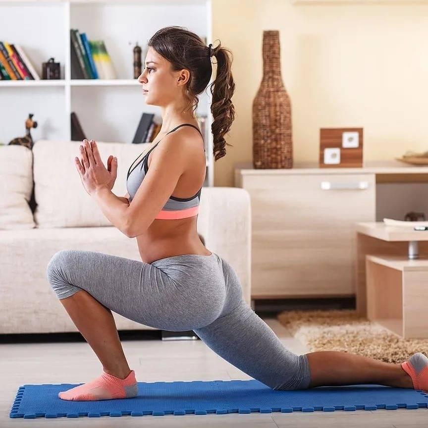 Тренировки дома: программы тренировок для всего тела в домашних условиях