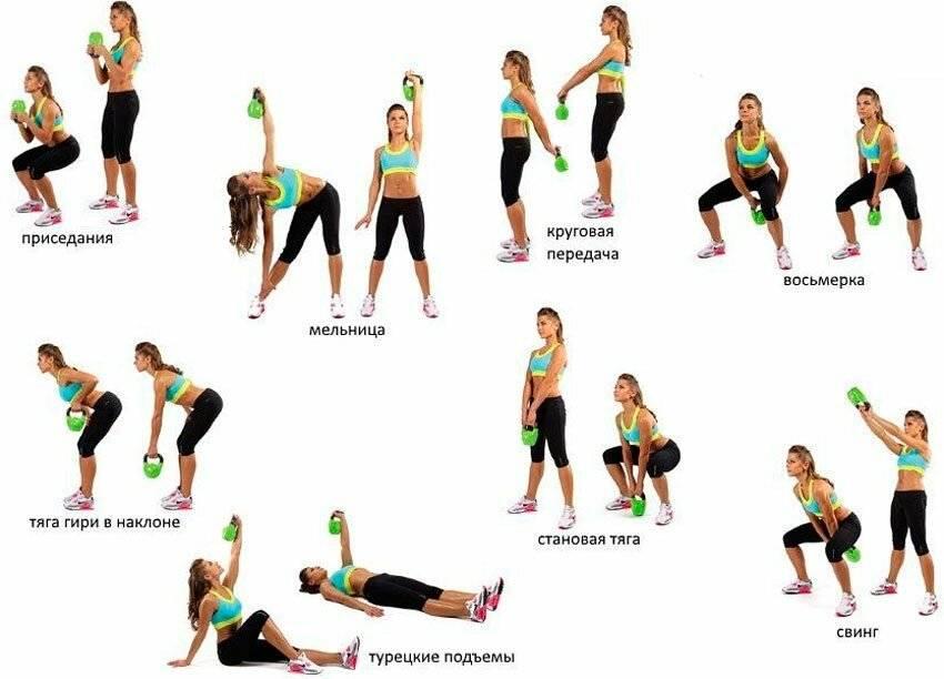 Лучшие упражнения с гантелями