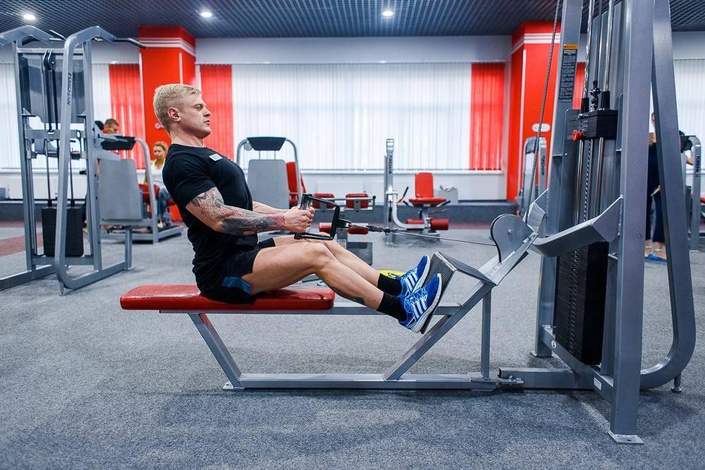 Тренировка мышц спины в тренажерном зале - лучшие упражнения