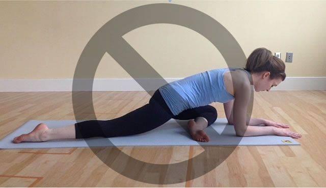 Поза голубя в йоге / эка пада раджакапотасана - yoga for me