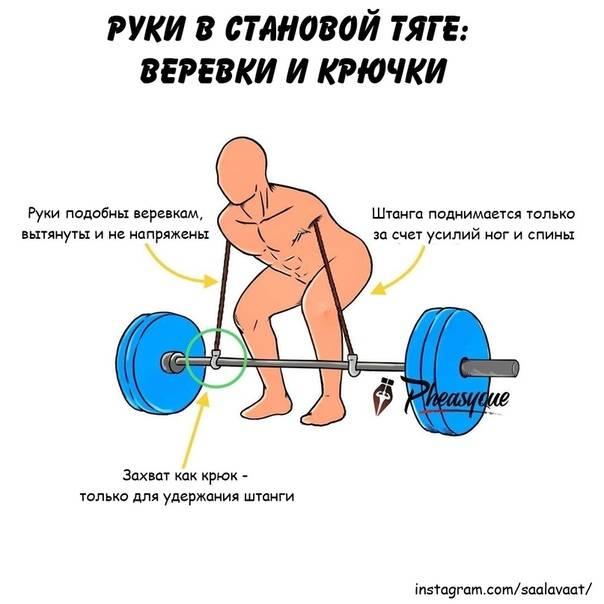 Становая тяга — техника выполнения, виды, ошибки и советы