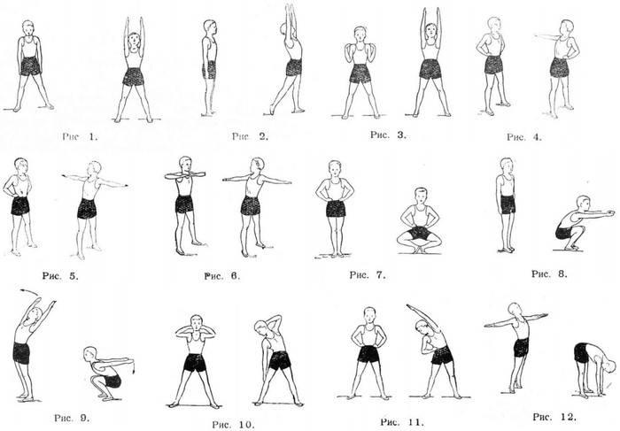 Утренняя зарядка – с чего начать, комплекс упражнений – спбгбуз гп №39