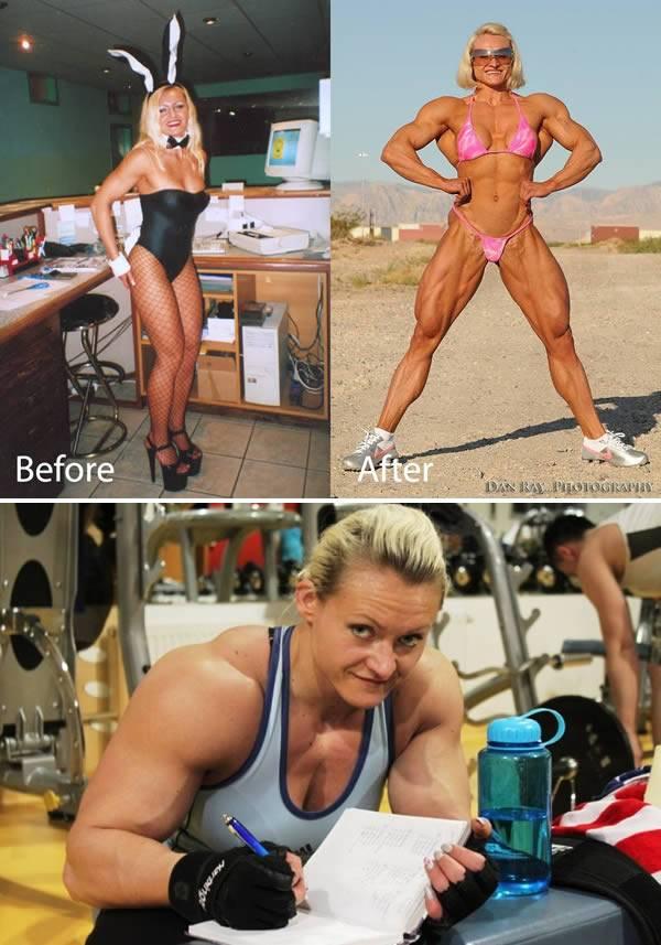 3 месяца бодибилдинга — как меняется девушка (реальный пример, фото до и после)