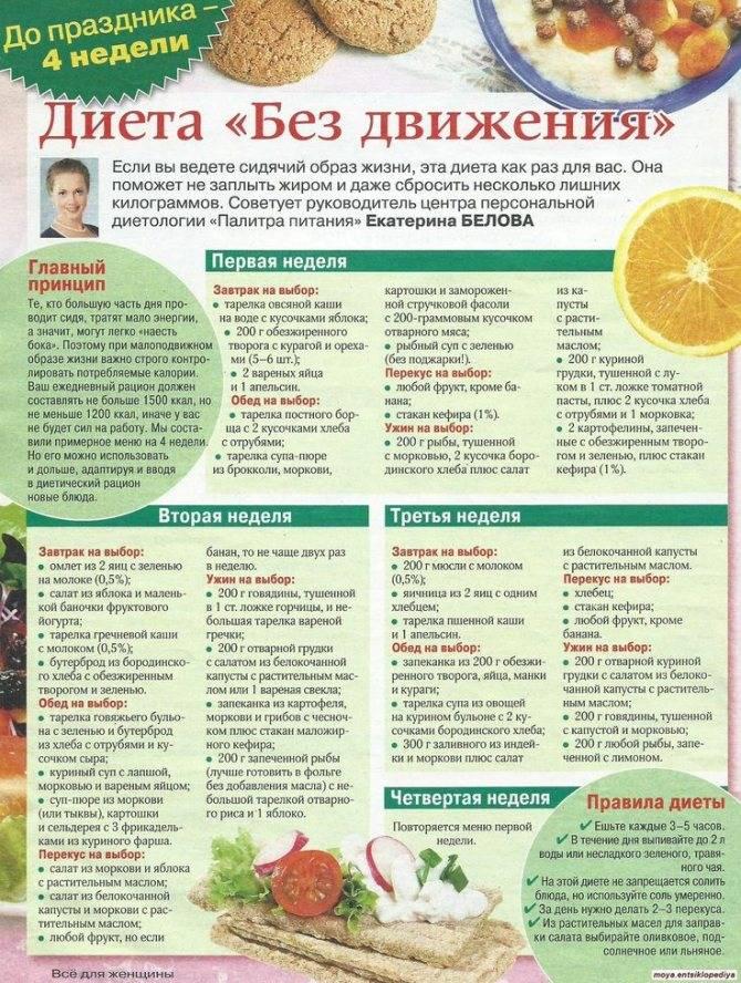 Жидкая диета: суть методики, список продуктов, составление меню