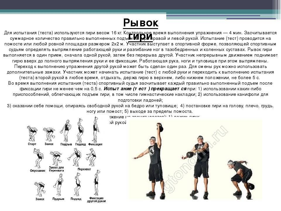 Глава 4 техника упражнении гиревого спорта / основы гиревого спорта: обучение двигательным действиям и методы тренировки