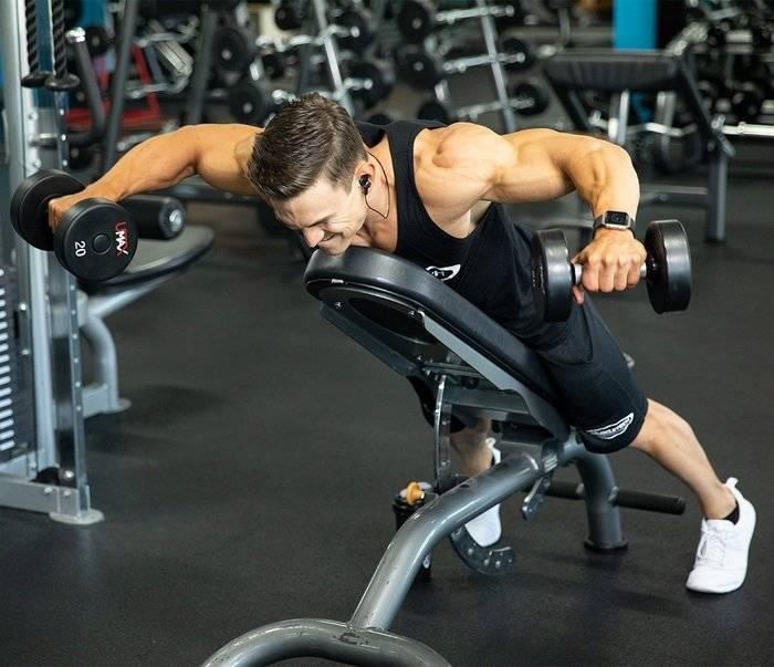 Упражнения на переднюю дельту плеча: как накачать передние дельты. тренировка передней дельты с гантелями