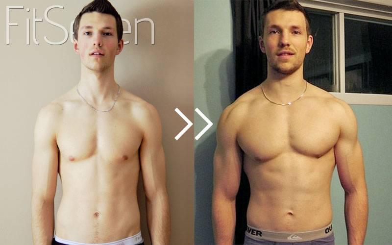 Сколько нужно заниматься, чтобы накачать грудные и другие мышцы с нуля | muscleprofit
