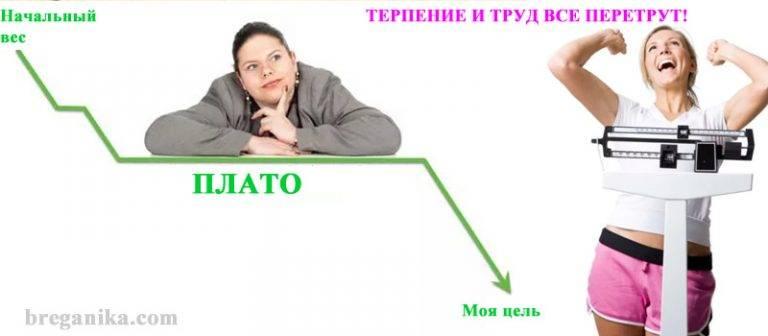 Вес не уходит: эффект плато, причины снижения веса